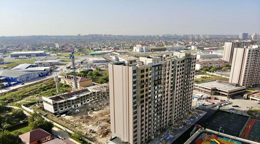 Отчет о строительстве ЖК «Мега Победа», август, 2021г.