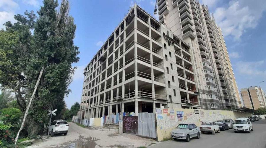 Отчет о строительстве ЖК «На Стахановской», август, 2021г.