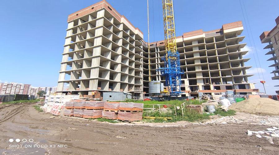 Отчет о строительстве ЖК «Облака», август, 2021г.
