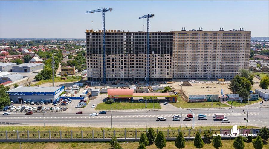 Отчет о строительстве ЖК «Олимпийский», август, 2021г.