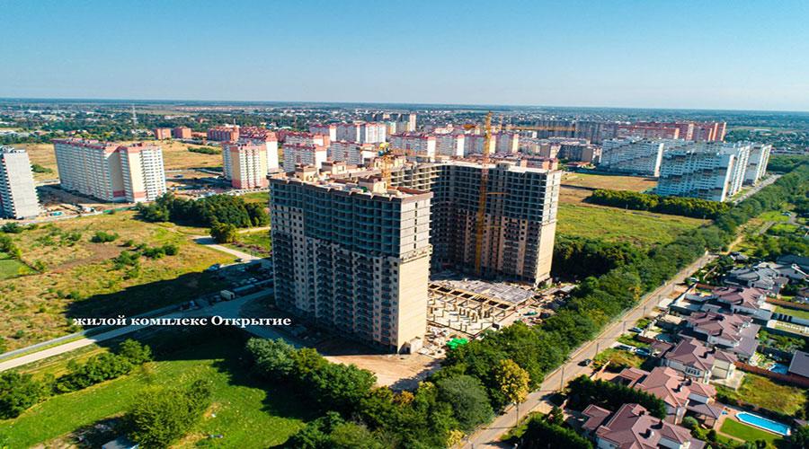 Отчет о строительстве ЖК «Открытие», сентябрь, 2021г.