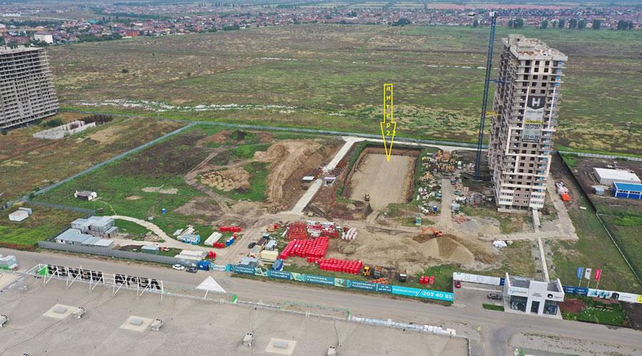 Отчет о строительстве ЖК «Отражение», август, 2021г.