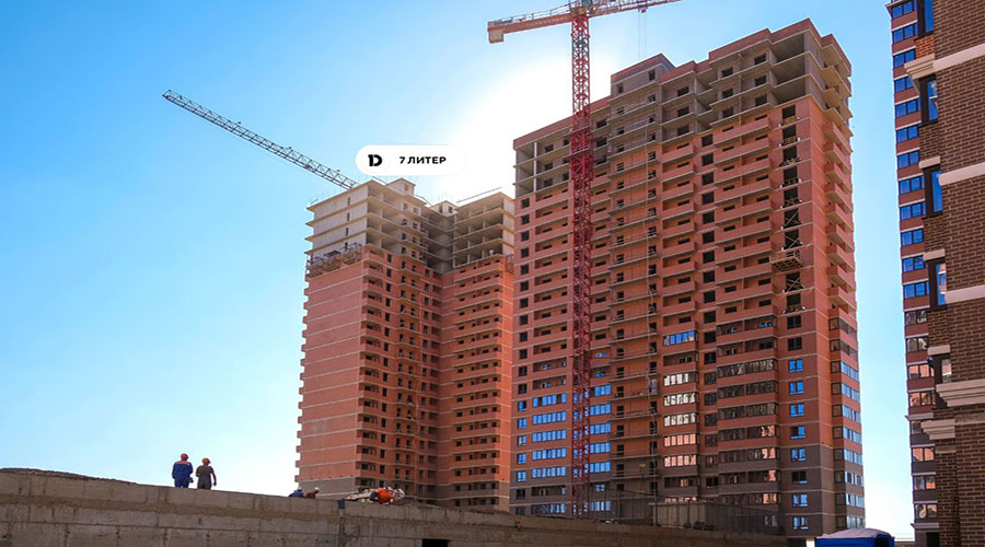 Отчет о строительстве ЖК «Парк Победы», сентябрь, 2021г.