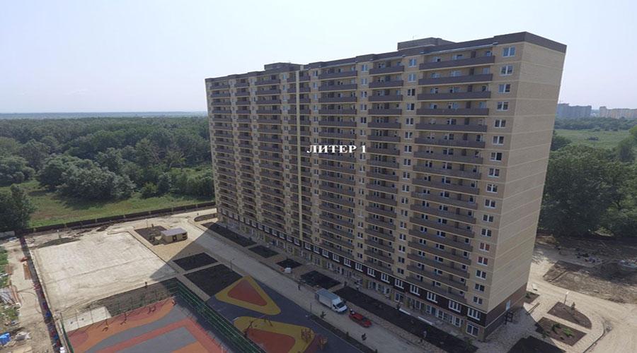 Отчет о строительстве ЖК «Поколение», август, 2021г.