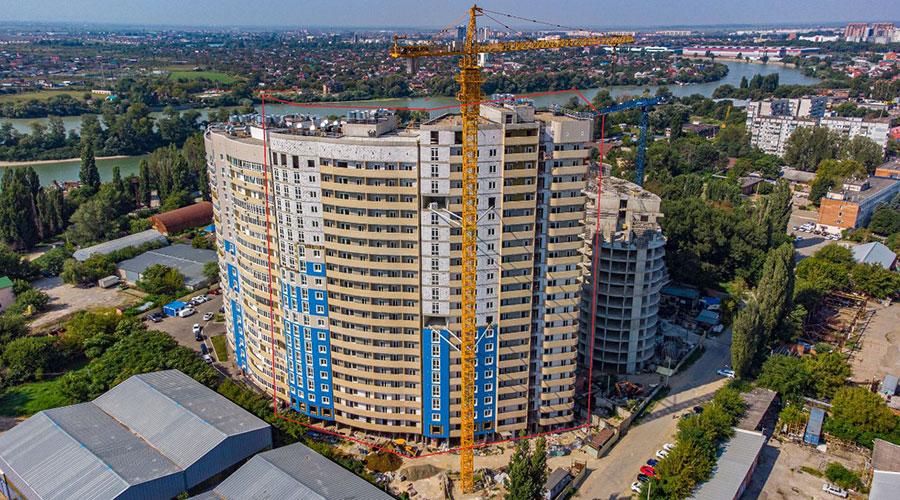 Отчет о строительстве ЖК «Радонеж», август, 2021г.