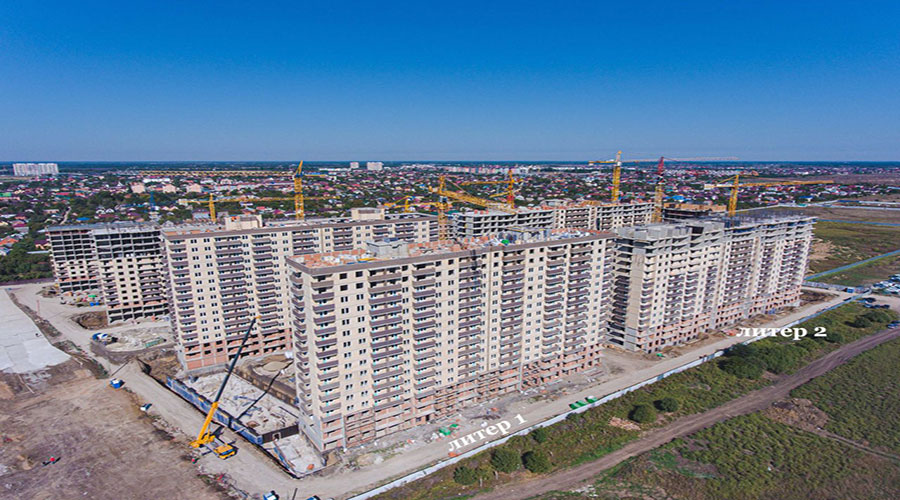 Отчет о строительстве ЖК «Ракурс», сентябрь, 2021г.