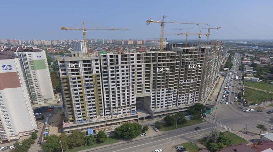 Отчет о строительстве ЖК «Сердце», август, 2021г.