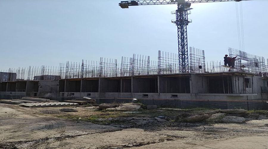 Отчет о строительстве ЖК «Спортивный парк», август, 2021г.