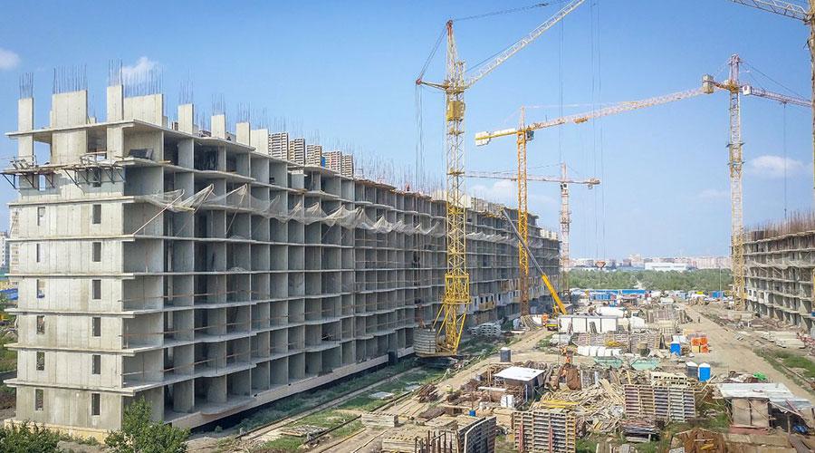 Отчет о строительстве ЖК «Светлоград», август, 2021г.