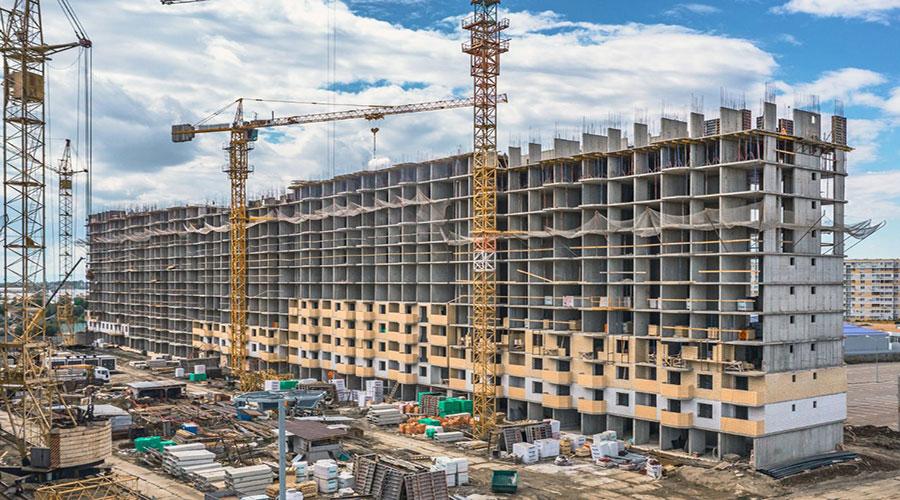 Отчет о строительстве ЖК «Светлоград», сентябрь, 2021г.