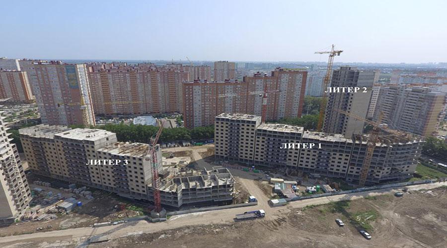 Отчет о строительстве ЖК «Свобода», август, 2021г.