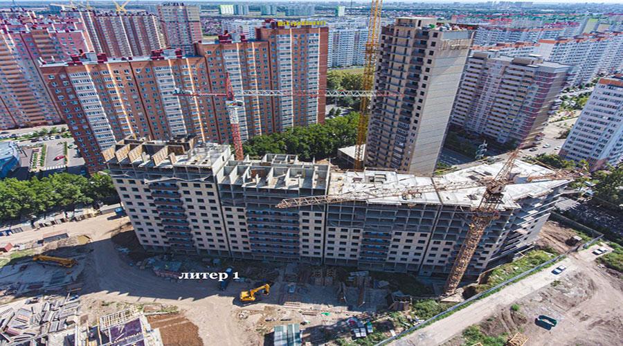 Отчет о строительстве ЖК «Свобода», сентябрь, 2021г.