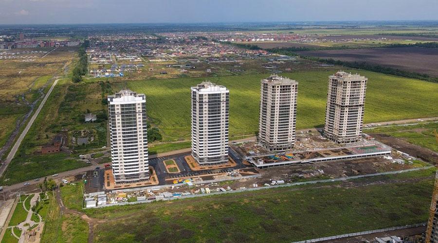 Отчет о строительстве ЖК «Титаны», август, 2021г.