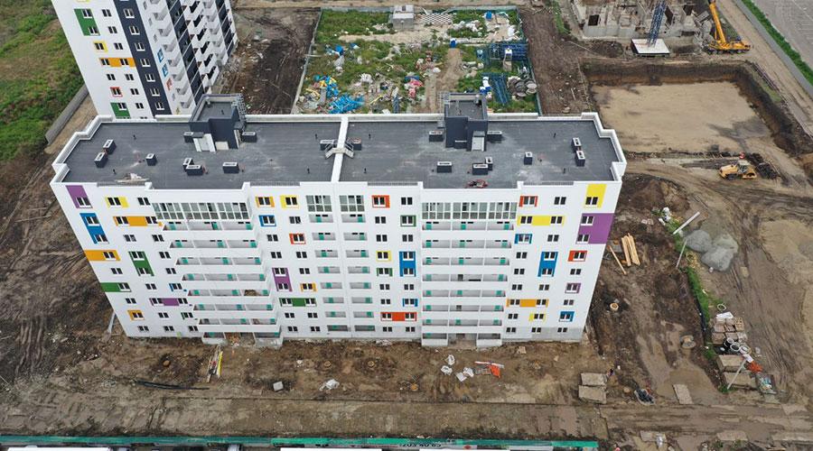 Отчет о строительстве ЖК «Южане», август, 2021г.