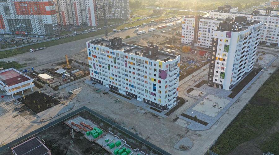 Отчет о строительстве ЖК «Южане», сентябрь, 2021г.