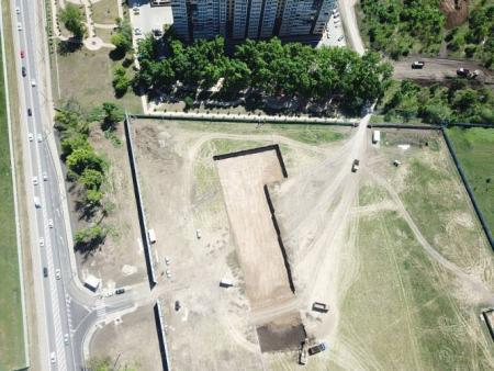 Отчет о строительстве ЖК «Парк Победы», май, 2020г.