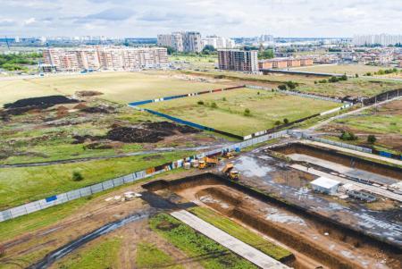 Отчет о строительстве ЖК «Ракурс», май, 2020г.