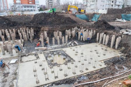 Отчет о строительстве ЖК «Айвазовский», январь, 2019г.
