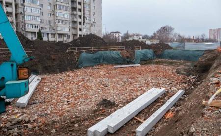 Отчет о строительстве ЖК «Айвазовский», апрель, 2019г.