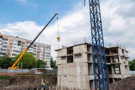 Отчет о строительстве ЖК «Айвазовский», май, 2019г.