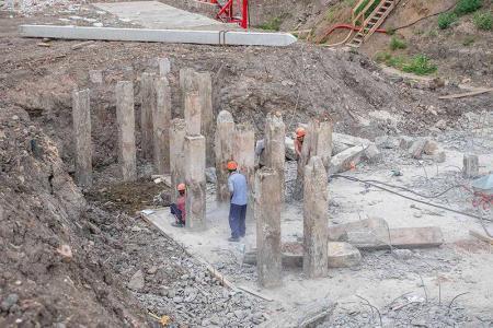 Отчет о строительстве ЖК «Айвазовский», июнь, 2019г.