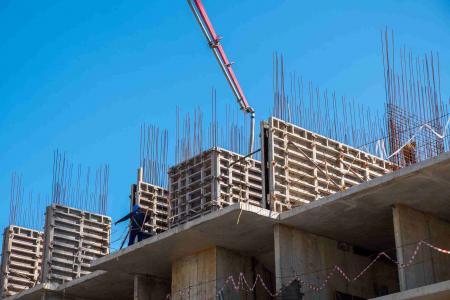 Отчет о строительстве ЖК «Айвазовский», август, 2019г.