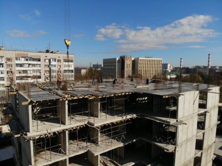 Отчет о строительстве ЖК «Айвазовский», ноябрь, 2019г.