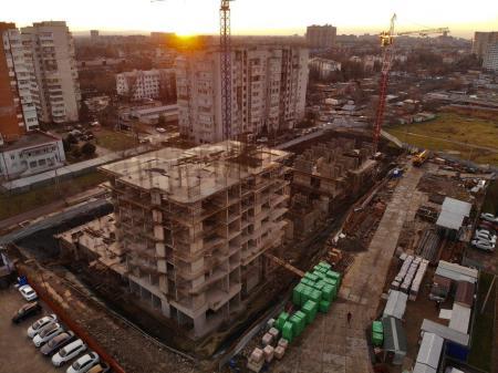 Отчет о строительстве ЖК «Айвазовский», декабрь, 2019г.