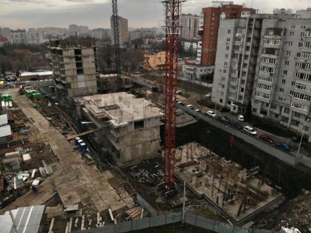 Отчет о строительстве ЖК «Айвазовский», январь, 2020г.