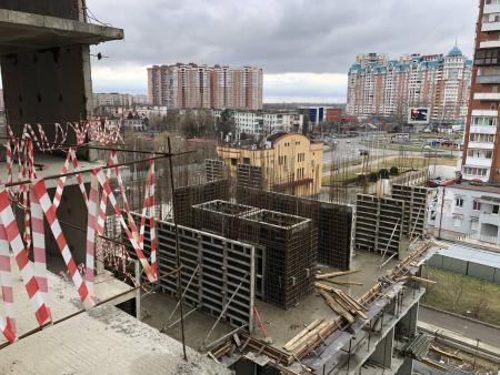 Отчет о строительстве ЖК «Айвазовский», март, 2020г.