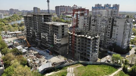 Отчет о строительстве ЖК «Айвазовский», май, 2020г.