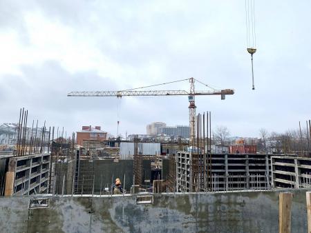 Отчет о строительстве ЖК «Лайм», январь, 2020г.