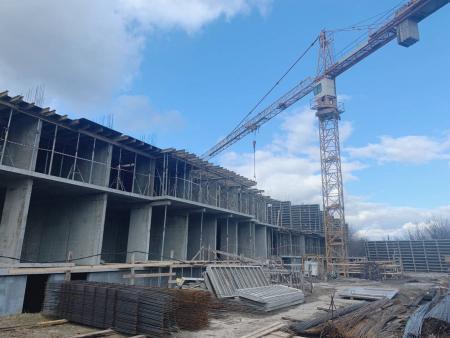 Отчет о строительстве ЖК «Лайм», февраль, 2020г.