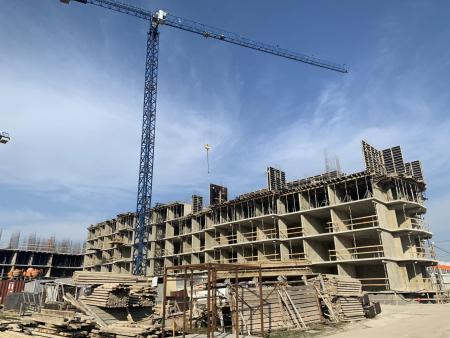 Отчет о строительстве ЖК «Лайм», март, 2020г.