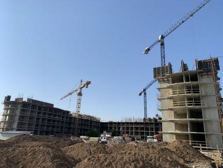 Отчет о строительстве ЖК «Лайм», апрель, 2020г.