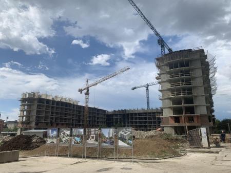 Отчет о строительстве ЖК «Лайм», май, 2020г.