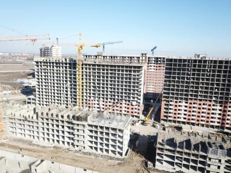 Отчет о строительстве ЖК «Самолет», март, 2020г.