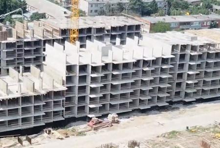 Отчет о строительстве ЖК «Движение», июль, 2019г.