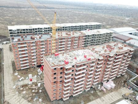 Отчет о строительстве ЖК «Движение», январь, 2020г.