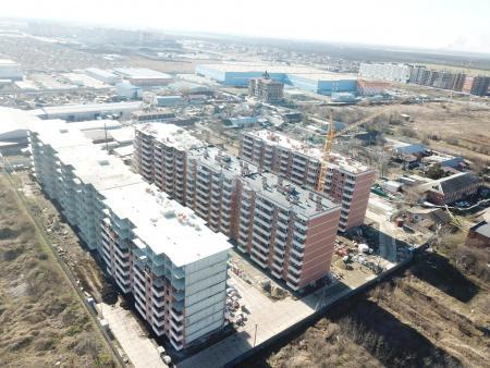 Отчет о строительстве ЖК «Движение», март, 2020г.