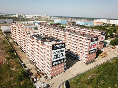 Отчет о строительстве ЖК «Движение», май, 2020г.
