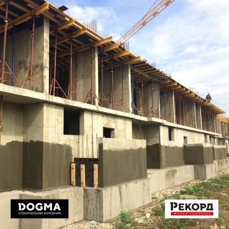 Отчет о строительстве ЖК «Рекорд», июль, 2018г.