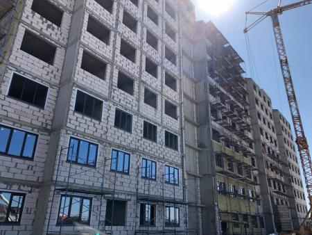 Отчет о строительстве ЖК «Мега Победа», сентябрь, 2019г.
