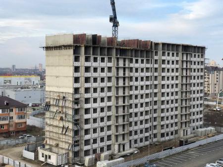 Отчет о строительстве ЖК «Мега Победа», январь, 2020г.