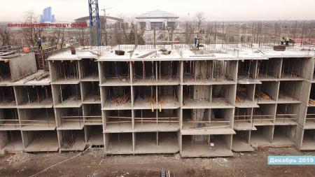 Отчет о строительстве ЖК «Олимпийский», декабрь, 2019г.