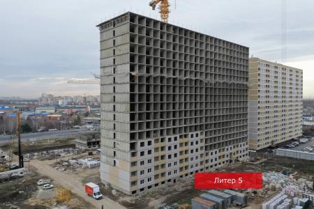Отчет о строительстве ЖК «Славянка», декабрь, 2019г.
