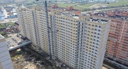 Отчет о строительстве ЖК «Славянка», март, 2020г.