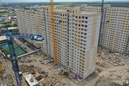 Отчет о строительстве ЖК «Славянка», апрель, 2020г.