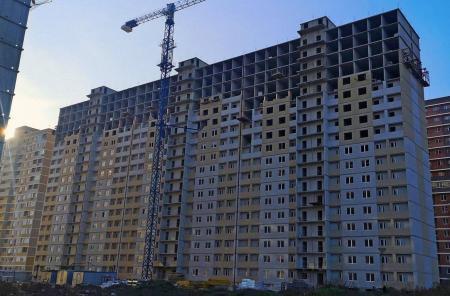 Отчет о строительстве ЖК «Славянка», октябрь, 2019г.