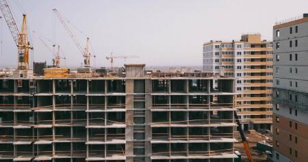 Отчет о строительстве ЖК «Светлоград», март, 2020г.